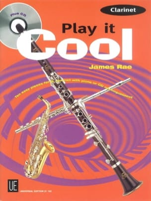 Play It Cool - James Rae - Partition - Clarinette - laflutedepan.com