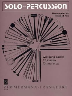 Wolfgang Pachla - 12 Studies - Sheet Music - di-arezzo.co.uk