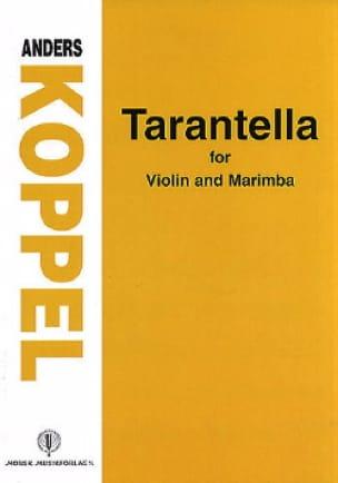 Tarantella - Anders Koppel - Partition - Marimba - laflutedepan.com