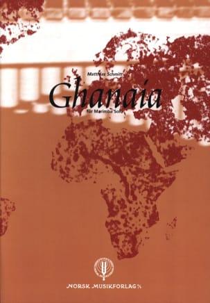Matthias Schmitt - Ghanaia - Partitura - di-arezzo.es