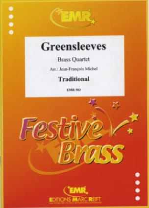 Greensleeves Partition Ensemble de cuivres - laflutedepan