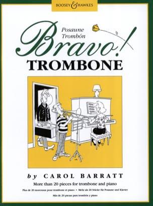 Carol Barratt - Bravo Trombone - Partition - di-arezzo.fr