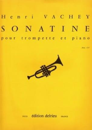 Henri Vachey - Sonatine - Partition - di-arezzo.fr