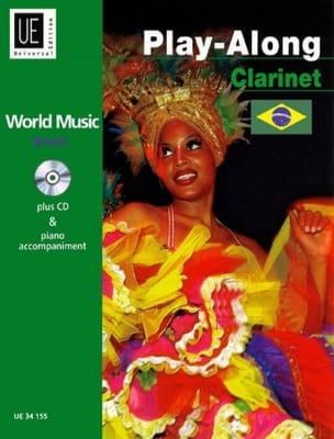 - World Music Brazil Play-Along Clarinet - Partition - di-arezzo.fr