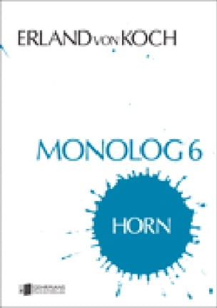 Erland Von Koch - Monolog 6 - Sheet Music - di-arezzo.com
