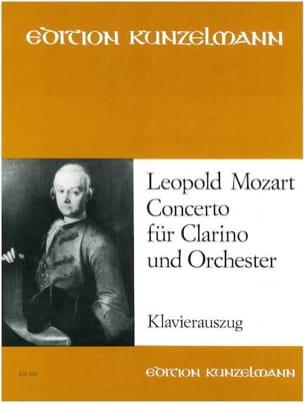 Concerto Für Clarino Und Orchester Leopold Mozart laflutedepan