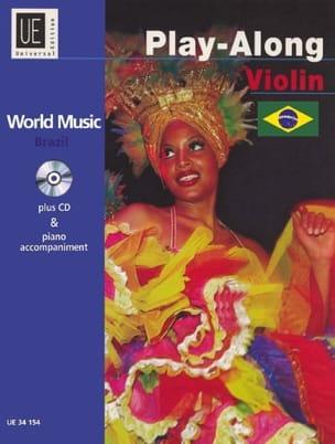 World Music Brazil Play-Along Partition Violon - laflutedepan