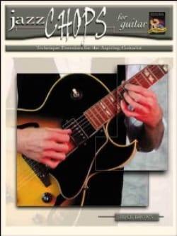 Jazz Chops For Guitar Buck Brown Partition Guitare - laflutedepan
