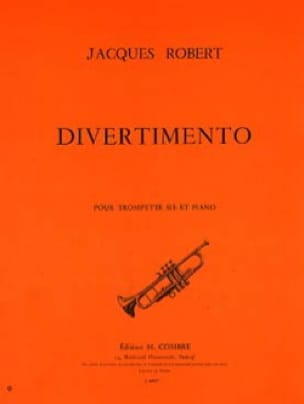 Divertimento Jacques Robert Partition Trompette - laflutedepan