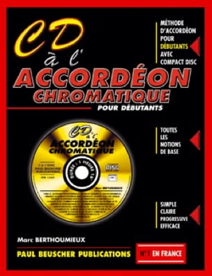 Marc Berthoumieu - CD AL Chromatic Accordion - Sheet Music - di-arezzo.co.uk