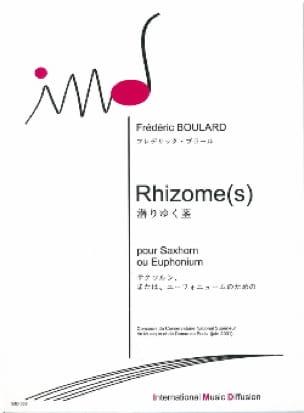 Rhizomes Frédéric Boulard Partition Tuba - laflutedepan