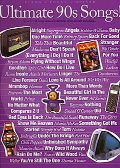 - Ultimate 90s Songs - Sheet Music - di-arezzo.com