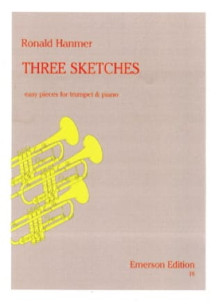 Ronald Hanmer - Three Sketches - Partition - di-arezzo.fr