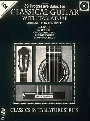 Classical Guitar Book 2 - 39 Progressive Solos - laflutedepan.com