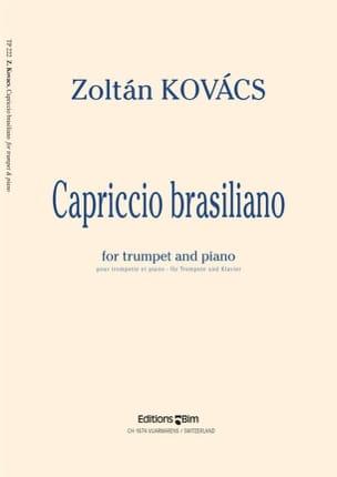 Capriccio Brasiliano - Zoltan Kovacs - Partition - laflutedepan.com