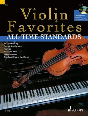 Violon Favorites All Time Standards Partition Violon - laflutedepan