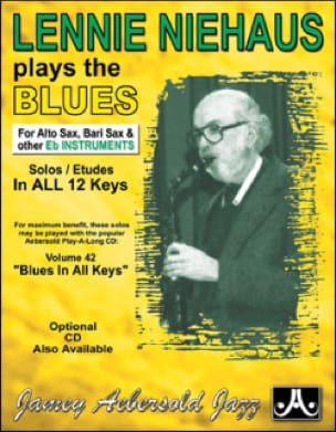 METHODE AEBERSOLD - Plays The Blues Saxo Eb - Sheet Music - di-arezzo.co.uk