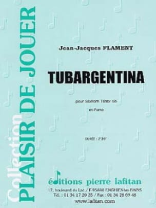 Tubargentina Jean-Jacques Flament Partition Tuba - laflutedepan