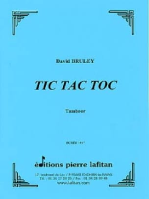 David Bruley - Tic Tac Toc - Partition - di-arezzo.fr