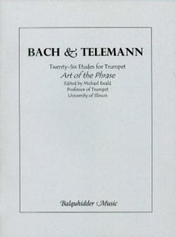 Bach Johann Sebastian / Telemann Georg Ph - 26 Studies For Trumpet / Art Of The Phrase - Sheet Music - di-arezzo.com