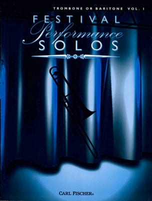 Festival Performance Solos Volume 1 - Partition - laflutedepan.com