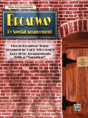 - Broadway By Special Arrangement - Partition - di-arezzo.fr