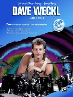 Dave Weckl - Ultimate play-along / Drum Trax Level 1 Volume 2 - Partition - di-arezzo.fr