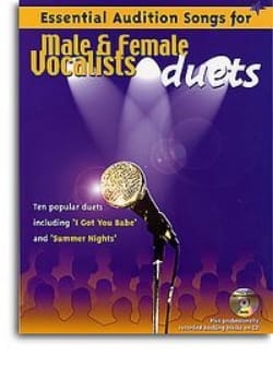 - Essential Audition Songs For Male & Female Vocalists Duets - Partition - di-arezzo.fr