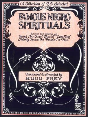 - Famous Negro Spirituals - Partition - di-arezzo.fr
