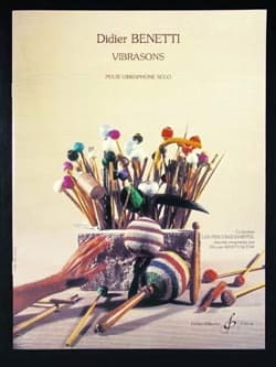 Didier Benetti - Vibrasons - Sheet Music - di-arezzo.co.uk