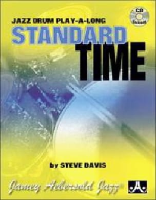 Standard Time - Jazz Drum Play-Along METHODE AEBERSOLD laflutedepan