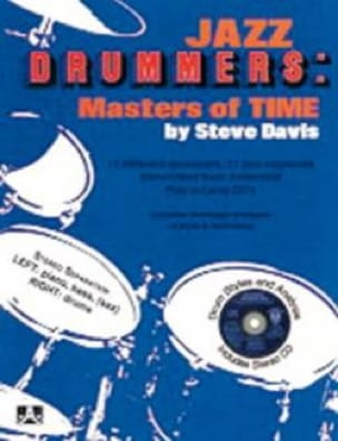 METHODE AEBERSOLD - Jazz Drummers Masters Of Time - Sheet Music - di-arezzo.co.uk