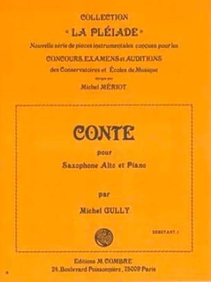Michel Gully - Conte - Partition - di-arezzo.fr