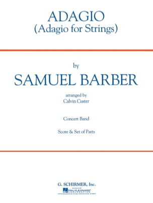 Samuel Barber - Adagio for strings - Sheet Music - di-arezzo.com