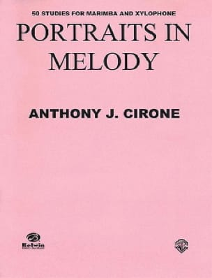 Anthony J. Cirone - Retratos en Melody - Partitura - di-arezzo.es