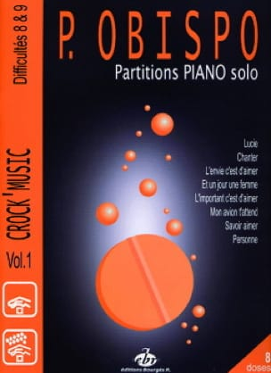 Pascal Obispo - オビスポピアノ - 楽譜 - di-arezzo.jp