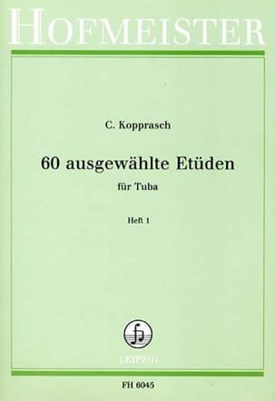 Georg Kopprasch - 60 Ausgewählte Etüden Heft 1 - Partition - di-arezzo.ch