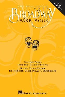 - The ultimate Broadway fake book Ut - 5th Edition - Sheet Music - di-arezzo.co.uk