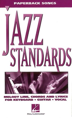- Paperback songs - Jazz Standards - Partition - di-arezzo.fr