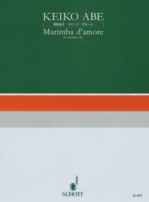 Keiko Abe - Marimba D 'Amore - Sheet Music - di-arezzo.co.uk