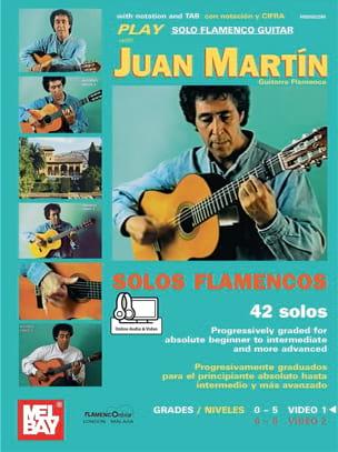 Juan Martin - Solos Flamencos - 42 Solos - Partition - di-arezzo.fr