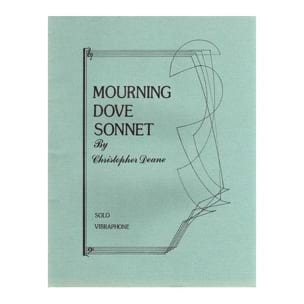 Christopher Deane - Mourning Dove Sonnet - Sheet Music - di-arezzo.co.uk