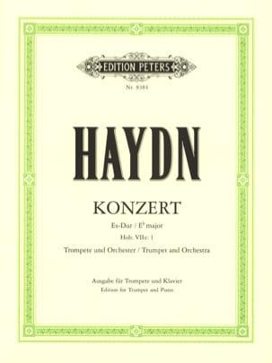 HAYDN - Konzert Es-Dur - Partition - di-arezzo.es