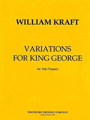 Variations For The King Georges - William Kraft - laflutedepan.com