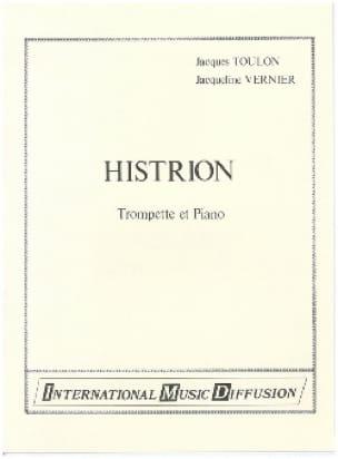 Histrion Toulon Jacques / Vernier Jacqueline Partition laflutedepan