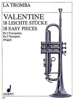 18 Leichte Stücke - Robert Valentine - Partition - laflutedepan.com