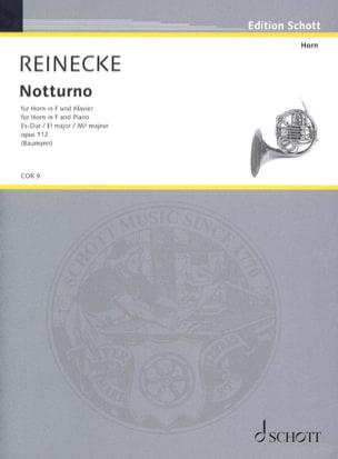 Carl Reinecke - Notturno Opus 112 In Es-Dur - Partition - di-arezzo.fr