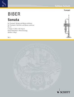 Heinrich Ignaz Franz Biber - Sonata IV - Partition - di-arezzo.fr
