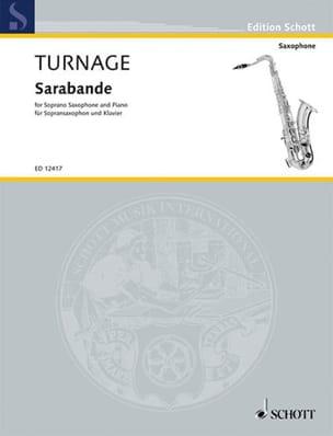 Sarabande - Mark-Anthony Turnage - Partition - laflutedepan.com