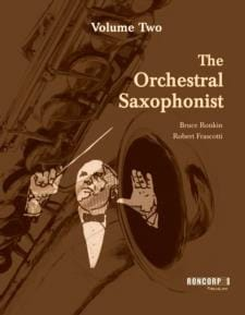 The Orchestral Saxophonist - Volume 2 - laflutedepan.com